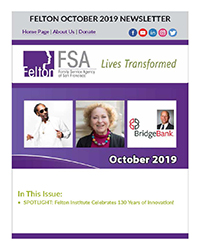 Enjoy Your October 2019 Newsletter from Felton Institute - FSA
