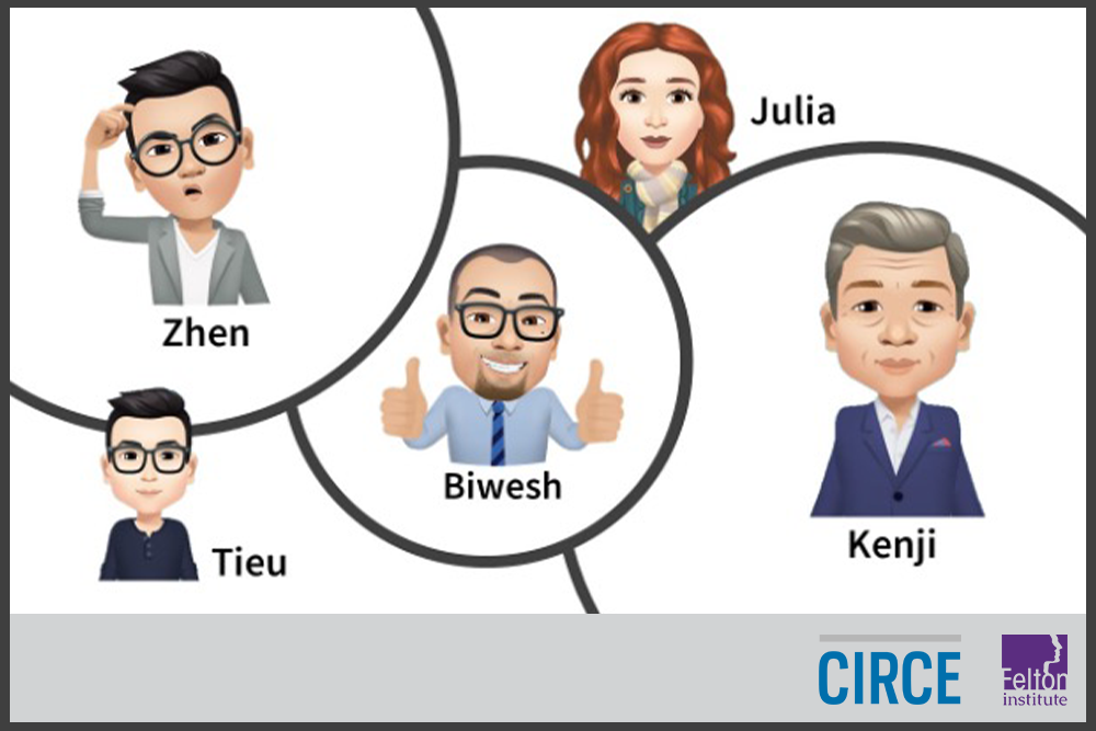 Felton Institute CIRCE Team Bitmoji