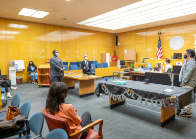 Young Adult Court Graduation, May 2021
